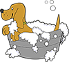Dog Bathins and Grooming Services at Barking Beauties Spa